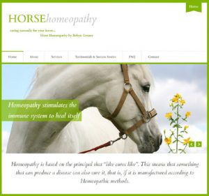 Robyn's Horse Homeopathy Website